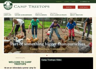 North+Country+School+%26+Camp+Treetops Website