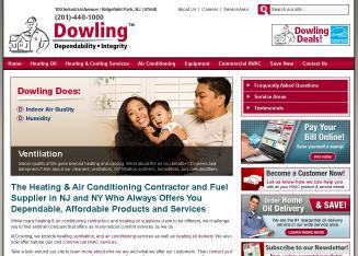 Dowling+HVAC+Company Website