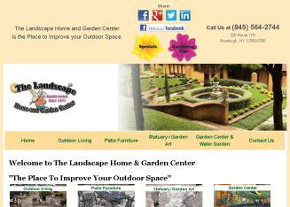 Landscape+Home+%26+Garden+Center Website