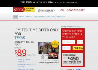 Comcast+Xfinity+Cable+-+Authorized+Retailer Website