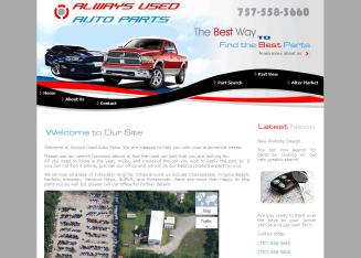 Always+Used+Auto+Parts Website