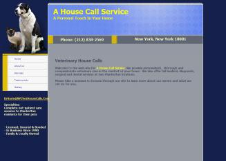 A+House+Call+Service Website