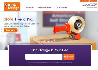 Public+Storage+-+Coon+Rapids Website