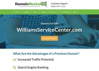 Williams+Service+Center Website