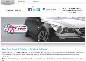 J+%26+S+Auto+Body+Inc Website