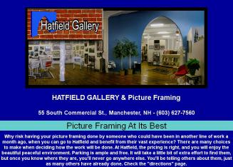 Hatfield+Picture+Framing+%26+Gallery Website