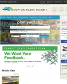 Hrt-Hampton+Roads+Transit Website
