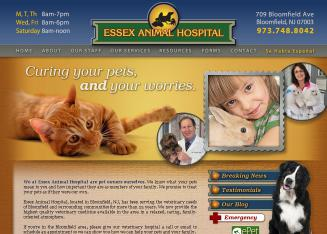 Essex+Animal+Hospital Website