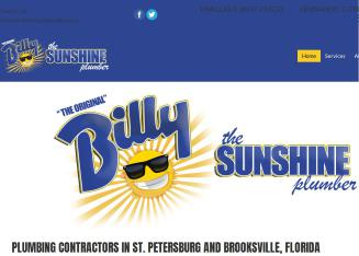 Billy+The+Sunshine+Plumber Website