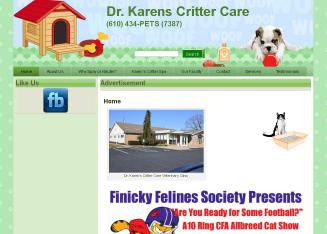 Hess+Karen+Dr+Critter+Care Website