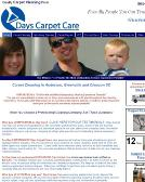 Days+Carpet+Care Website