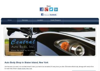 Central+Auto+Body+INC Website