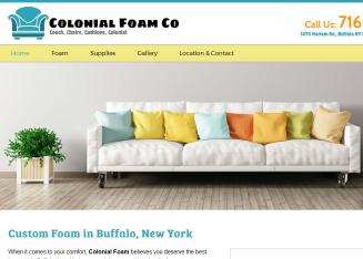 Colonial+Foam+LLC Website