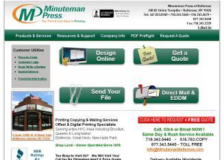 Minuteman Press Printing of Bellerose