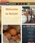 Relish+Cafe+And+Bar Website