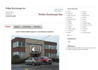 Pallet+Exchange+Inc Website