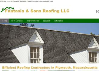 Fantasia+And+Sons+Roofing Website