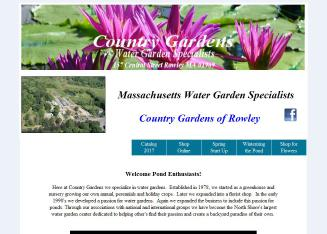 Country Gardens Of Rowley Inc