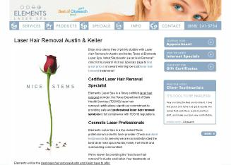 Elements+Laser+Spa Website