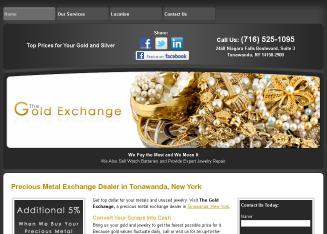 The+Gold+Exchange Website