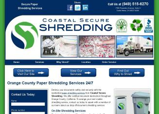 Coastal+Secure+Shredding+Inc Website