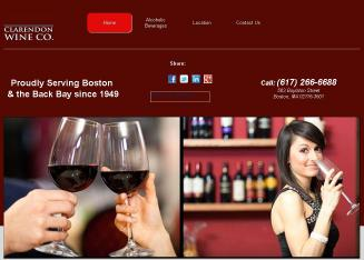 Clarendon+Wine+Co Website