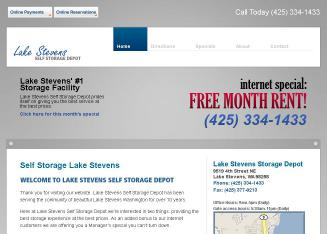 Lake+Stevens+Self+Storage+Depot Website
