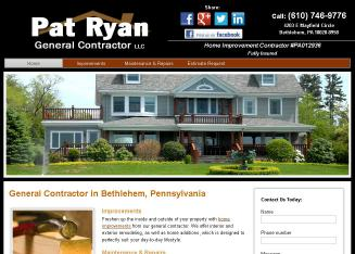 Pat+Ryan+General+Contractor+LLC Website