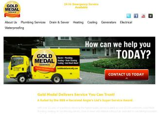 Gold Medal Plumbing Heating Cooling Electric