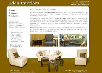 Eden+Interiors Website