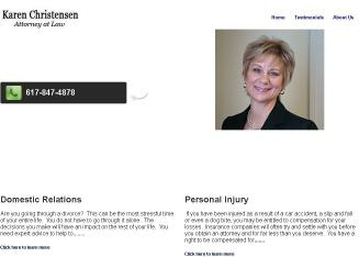 Christensen+Karen+A+Law+Ofc Website