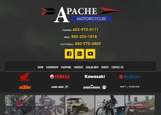 Apache+Motorcycles+Phoenix Website
