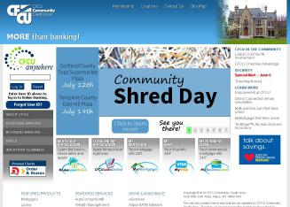 CFCU+Community+Credit+Union Website