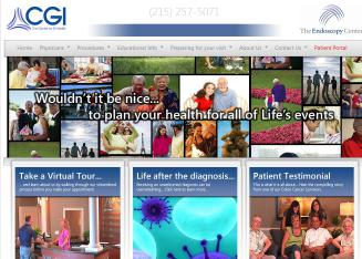 Center+for+GI+Health Website