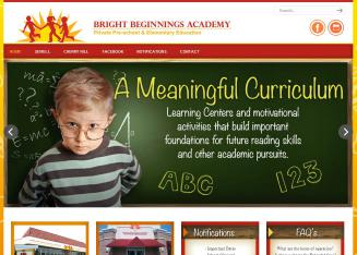Bright+Beginnings+Academy Website