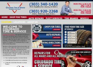 Colorado+Tire+and+Service Website