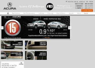 Acura+Pre-Owned+Vehicles Website