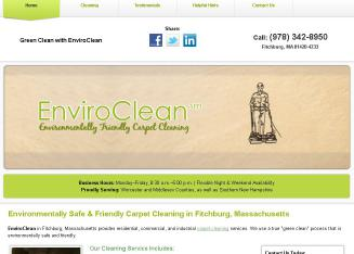 EnviroClean+Host+Professional+Cleaner Website