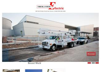 Oberlander+Electric+Company Website