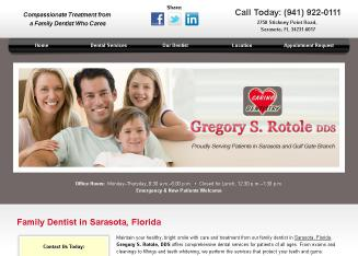 Gregory+S+Rotole+DDS Website