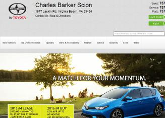 Charles+Barker+Automotive Website