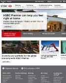 HSBC+Bank Website