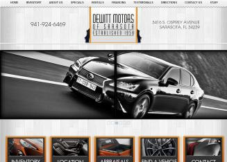 De+Witt+Motor+Sales Website