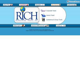 Rich+Worldwide+Travel Website