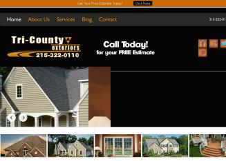 Tri+County+Exteriors Website