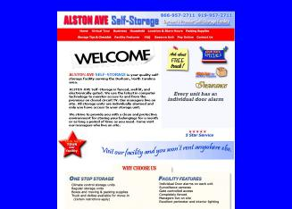 Alston+Avenue+Self+Storage Website