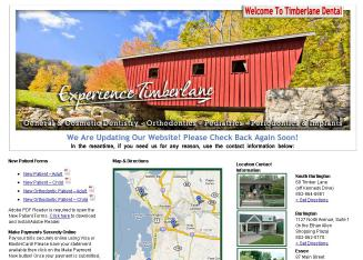 Timberlane+Dental+Group Website