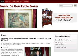 Emeric+Degaul+Estate+Services Website