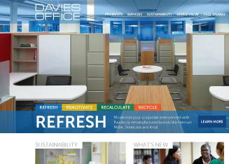Davies+Office+Furniture Website