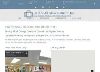 Harbor All Glass & Mirror